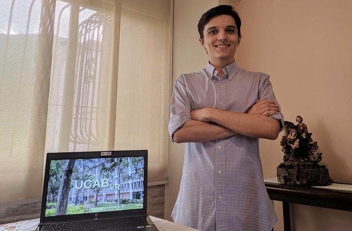 Visitas virtuales a la UCAB: Miguel De Olim desglosa su reciente invención