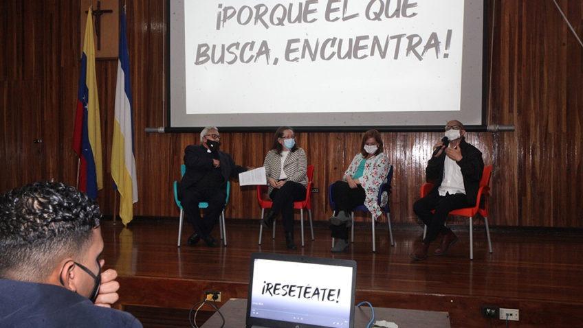 La UCAB presentó «Resetéate», campaña de activación ciudadana frente a la emergencia social
