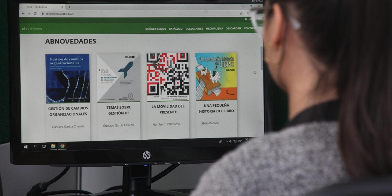 Ahora los libros editados por la UCAB se pueden adquirir directamente en un portal web