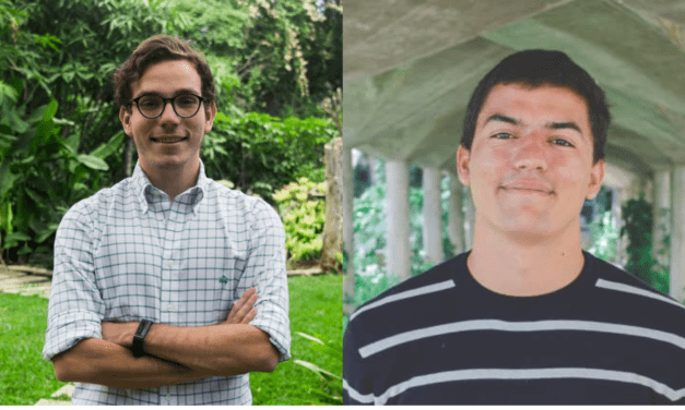 Dos jóvenes ucabistas fueron premiados en el Concurso Ideas