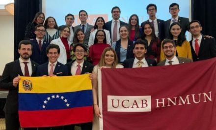 Ucabistas se impusieron como Mejor delegación internacional del HNMUN 2021