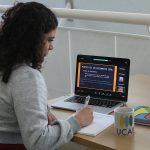 La Escuela de Ingeniería Informática impartió taller virtual para alumnos de bachillerato