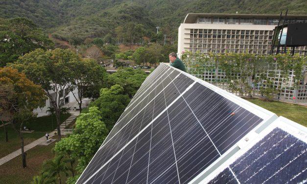 LA UCAB INAUGURÓ PRIMERA AULA ABIERTA DE VENEZUELA CON TECNOLOGÍA DE ENERGÍA SUSTENTABLE